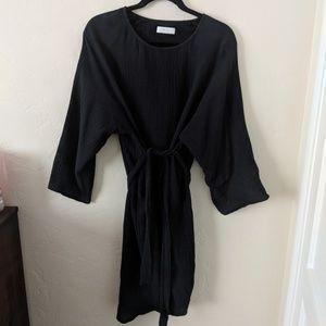Oak & Fort Cotton caftan dress